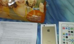 IPhone 5s GOLD 16GB NEW My wife got a NEW IPhone 5s