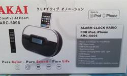 Brand New in a box. Not opened yet. iphone charger Dock