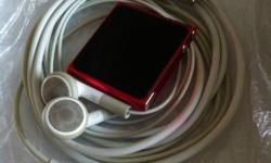 The limited edition red ipod nano 6. Good working and
