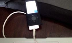 IPOD Nano 16G Black . Comes with charger and gel coat
