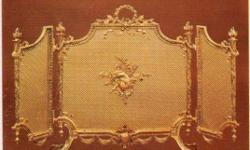 Italian Solid Gold Brass Decorative Partition/Shade