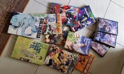 Japanese comics in japanese collection