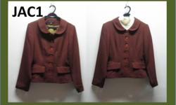 Japanese style brown jacket. Size S. Interested parties