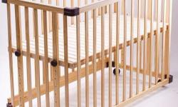 Jarrons baby cot, can be converted to a play pen and a