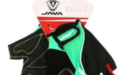 Java Cycling Half Gloves CH10 - Green/Black S$24 (For