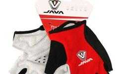 Java Cycling Half Gloves CH12 - Red/Black S$26 (For