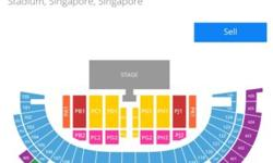Jay Chou Singapore 2014 Im selling a pair of VVIP