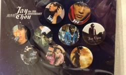 Jay Chou ��伦 the 10th Anniversary Badges collection. A