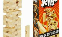 Jenga Classic Game Age range: 8yo and above Our price: