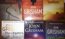 Moving House John Grisham Books - some new, unread, all