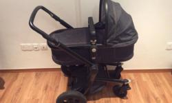 Complete Joolz Day Earth stroller and carry cot system