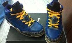 custom Jordan SOM low size 10.5 Good condition Give me