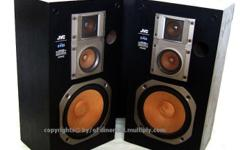 ~~~ JVC 3 Way FLooR SpeaKeRS (52cm height) $148