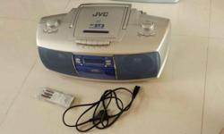 JVC CD Portable System with for sale (With CD and