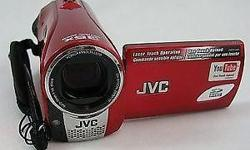 JVC Everio HD Video Camcorder from Japan, red colour