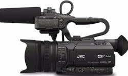 JVC GY-HM200E (4KCAM COMPACT HANDHELD CAMCORDER with