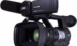 JVC GY-HM660 ProHD_HDMI_AVCHD Mobile News Camcorder