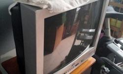 JVC 20 inch TV. Good for your retro theme room. In good