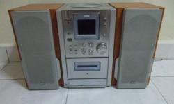 JWIN CD / Cassette palyer with PLL Tuning Radio,