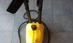 I have a Karcher Steam Cleaner for sale Used once for