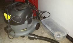 7 month old Karcher vacuum cleaner for sale, self