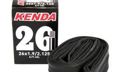 Kenda Inner Tube 26 x 1.9/2.125 A/V S$10 (For direct