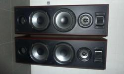 Kenwood LS-V710 Tower speakers, made of solid wood, 3