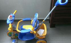 kiddie bicycle 1 month old..selling as child no longer