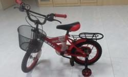 Kid's bicycle Seldom used - No defects Good condition