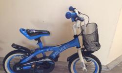 Kids cycle perfect for children between 3 to 5 years.