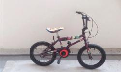 "Kids Bicycle For Sale 16"". Well maintained."