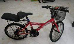 Two Kids Bikes for Sale at $40 If interested pls sms,