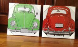 BRAND NEW canvas prints for kids room. $15 for both