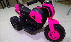 In-stock - Kids Electric Bike (pink) Dimension: 75cm x