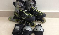 Size - Euro 31 to 34 ( Adjustable ) ABEC 5 Suitable for