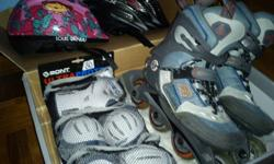 Hi This set of K2 rollerskates was left behind by my