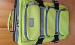 Canvas luggage bag allowable for handcarry onboard the