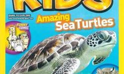 National Geographic Kids- ($$55.00 for A YEAR-10