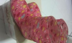 "kids rain boots size- 8"" fits 4-6 yr old"