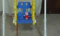 ching ching baby swing available for sale..used for 3