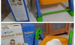 Almost new kids toilet trainer seat for sale at $30