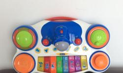 Chicco Baby DJ System Leapfrog Lettersaurus Fisher