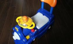 Rider toy car for toddler. Pre-loved and nice