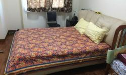 Queen Size Used Beds in good with mattress for sale