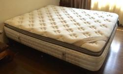 As new King Coil Elaenor mattress with pillow top.