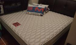 King size bed frame and high quality mattress in very
