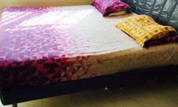 The bed and the mattress are in very good condition.