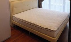 Used King Size Mattress for sale (without bed frame) -