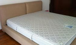 under 5 years old Sealy mattress with bed frame for