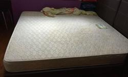 King Size spring Mattress for sale - 6 months old -